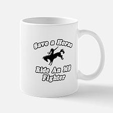 """Ride an MS Fighter"" Mug"