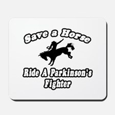 """Ride Parkinson's Fighter"" Mousepad"