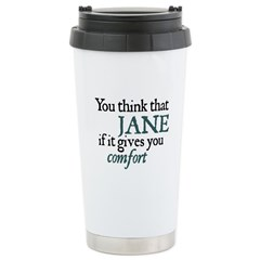 Jane Austen Comfort Travel Mug