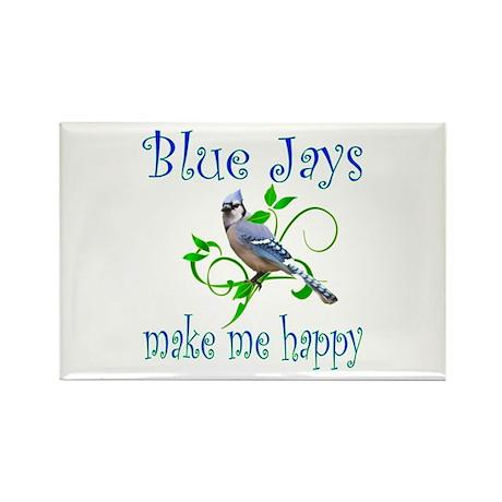 Blue Jays Rectangle Magnet (100 pack)
