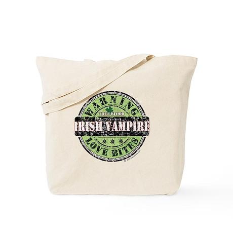 Irish Vampire True Blood Tote Bag