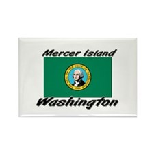 Mercer Island Washington Rectangle Magnet