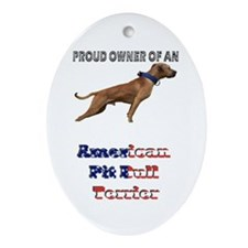 Proud Owner Oval Ornament