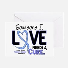 Needs A Cure 2 PROSTATE CANCER Greeting Card