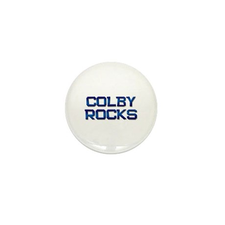 colby rocks Mini Button