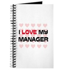 I Love My Manager Journal
