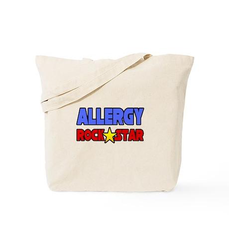 """Allergy Rock Star"" Tote Bag"