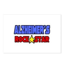"""Alzheimer's Rock Star"" Postcards (Package of 8)"