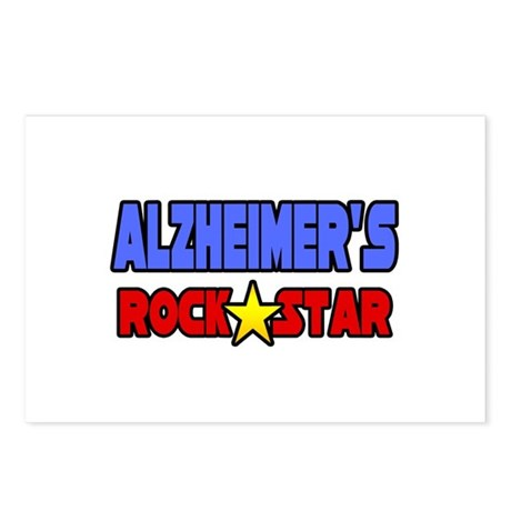 """Alzheimer's Rock Star"" Postcards (Package of 8)"