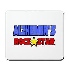 """""""Alzheimer's Rock Star"""" Mousepad"""
