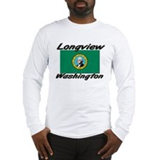 Longview Washington Long Sleeve T-Shirt