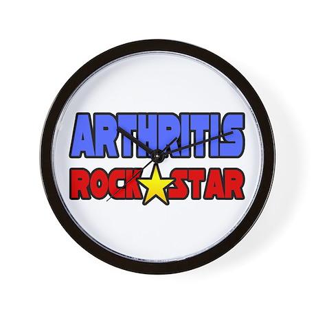 """Arthritis Rock Star"" Wall Clock"