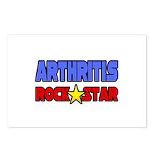 """Arthritis Rock Star"" Postcards (Package of 8)"