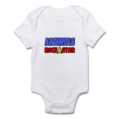 """Arthritis Rock Star"" Infant Bodysuit"