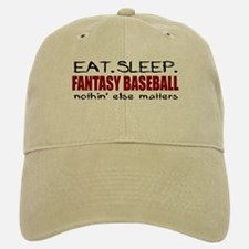Eat Sleep Fantasy Baseball Baseball Baseball Cap
