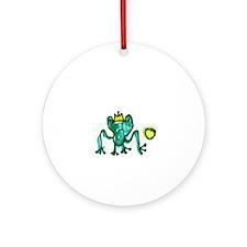 Cute Prince Ornament (Round)