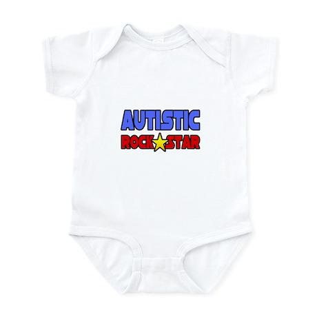 """""""Autistic Rock Star"""" Infant Bodysuit"""
