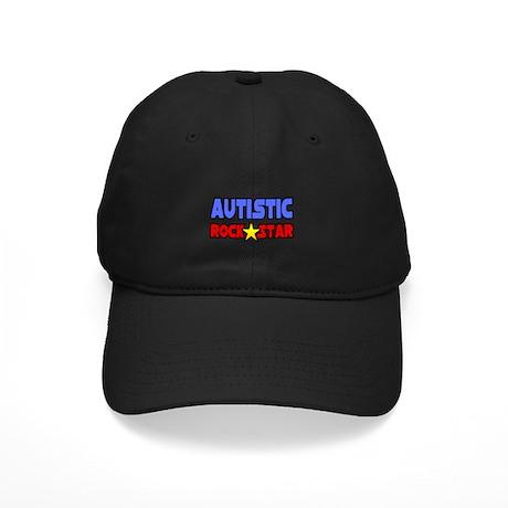 """Autistic Rock Star"" Black Cap"