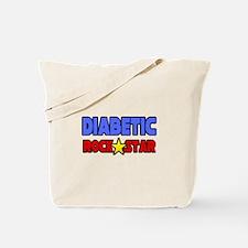 """""""Diabetic Rock Star"""" Tote Bag"""