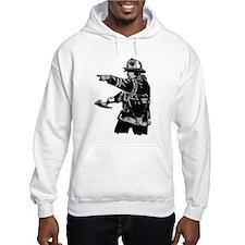 Abstract Fireman Jumper Hoodie