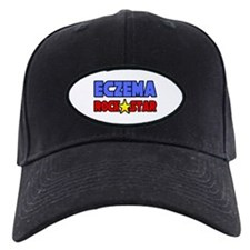 """Eczema Rock Star"" Baseball Hat"
