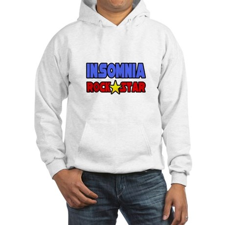 """Insomnia Rock Star"" Hooded Sweatshirt"