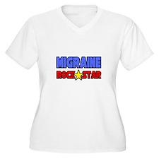"""Migraine Rock Star"" T-Shirt"
