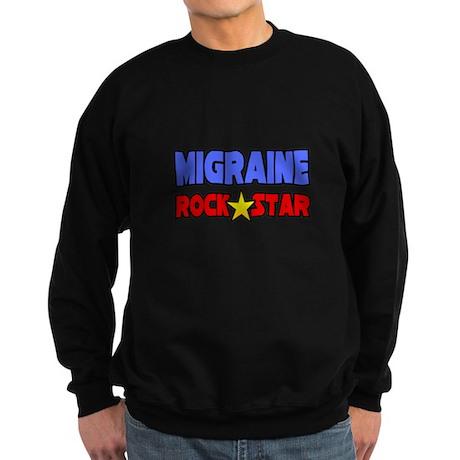 """""""Migraine Rock Star"""" Sweatshirt (dark)"""