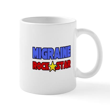 """""""Migraine Rock Star"""" Mug"""