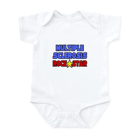 """Multiple Sclerosis RockStar"" Infant Bodysuit"