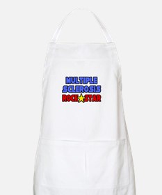 """Multiple Sclerosis RockStar"" BBQ Apron"