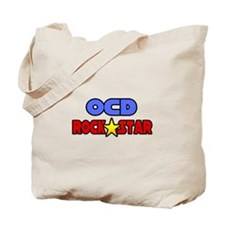 """""""OCD Rock Star"""" Tote Bag"""