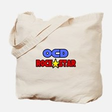 """OCD Rock Star"" Tote Bag"