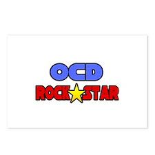 """OCD Rock Star"" Postcards (Package of 8)"