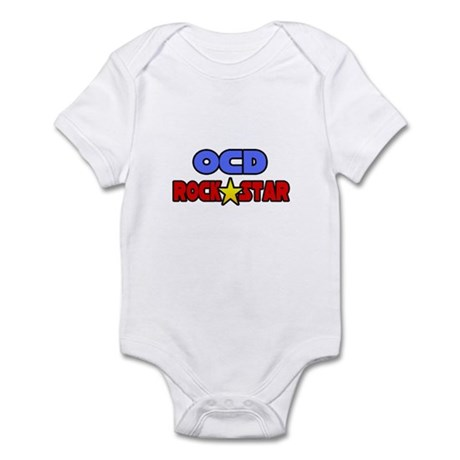 """""""OCD Rock Star"""" Infant Bodysuit"""