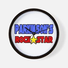 """Parkinson's Rock Star"" Wall Clock"
