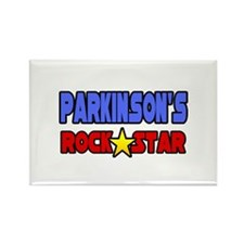 """Parkinson's Rock Star"" Rectangle Magnet"