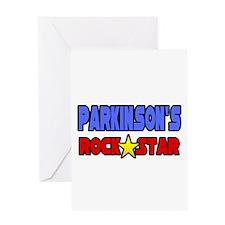 """Parkinson's Rock Star"" Greeting Card"