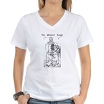 Westford Knight Women's V-Neck T-Shirt