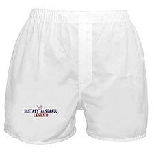 Fantasy Baseball Legend (2009) Boxer Shorts