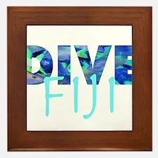 Dive Fiji Framed Tile
