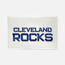 cleveland rocks Rectangle Magnet (10 pack)