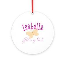 Isabella Ornament (Round)
