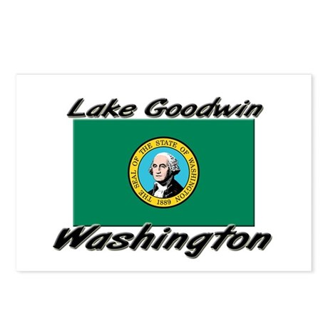 Lake Goodwin Washington Postcards (Package of 8)
