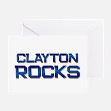 clayton rocks Greeting Card