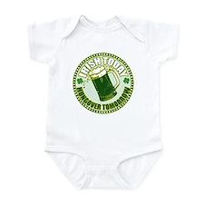 Irish today drunk tomorrow St Infant Bodysuit