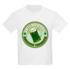 Irish today drunk tomorrow St T-Shirt
