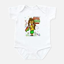 RY One Love Nattie Infant Bodysuit