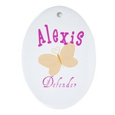 Alexis Oval Ornament