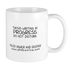 Thesis in Progress Mug